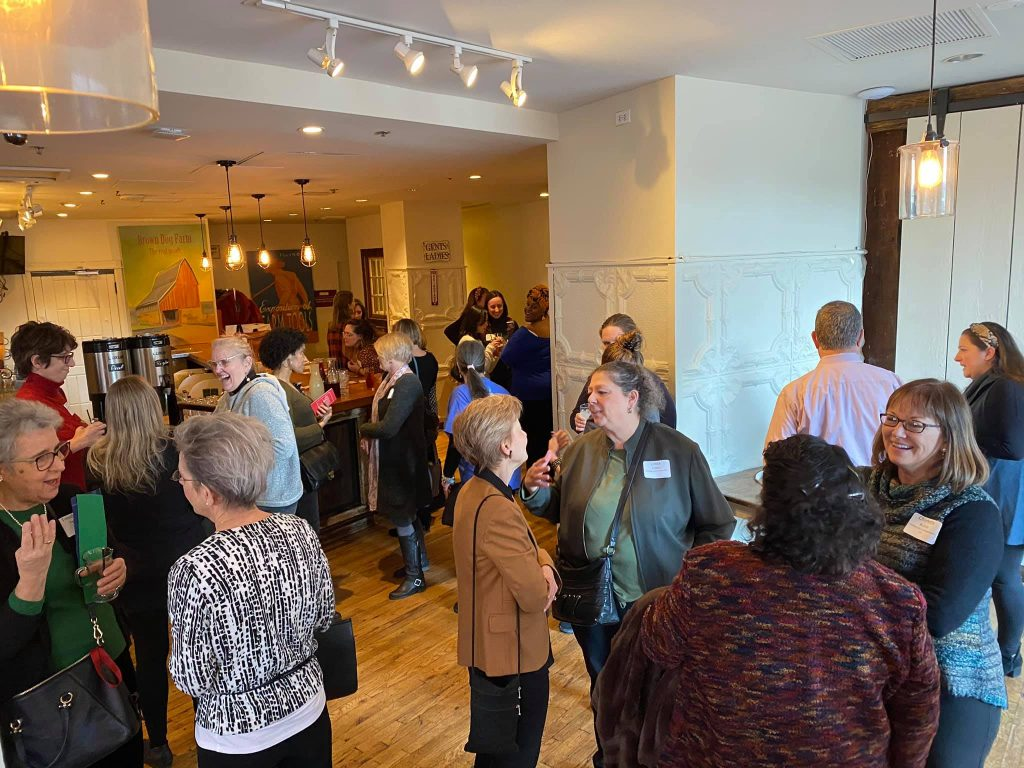 Evanston Women in Business luncheon