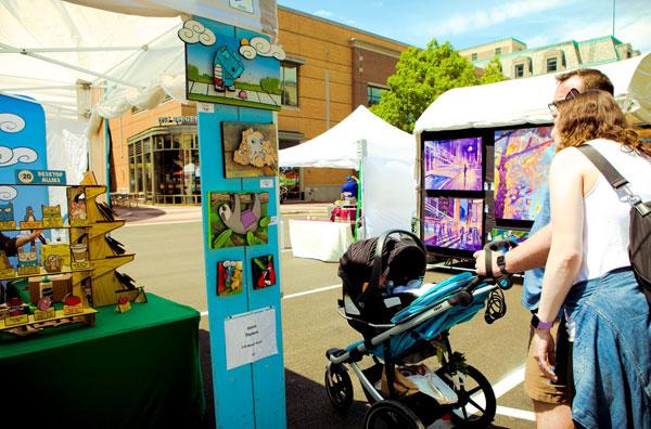 Fountain Square Artisan Summerfest