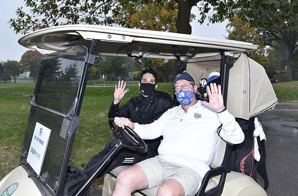 Evanston Chamber golfers