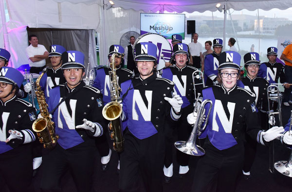 Evanston MashUp NU band